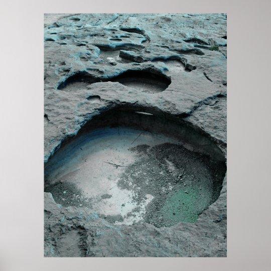 Impresión del paseo de la luna