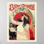 Impresión del poster: Arte Nouveau - Oriental amar