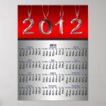 Impresión del poster de 2012 calendarios