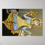 Impresión del poster de Bhairava Shiva