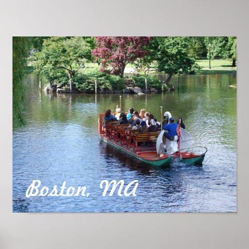 Impresión del poster de Boston