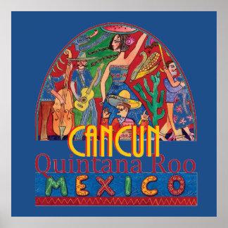 Impresión del POSTER de CANCUN México