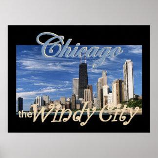 Impresión del POSTER de Chicago