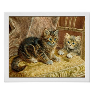 Impresión del poster de Kiitten Gatos del gatito