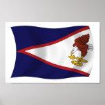 Impresión del poster de la bandera de American Sam
