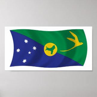 Impresión del poster de la bandera de la Isla de N