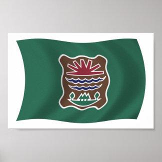 Impresión del poster de la bandera de la tribu de