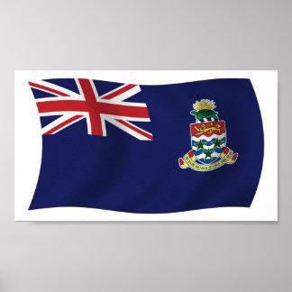 Impresión del poster de la bandera de las Islas Ca