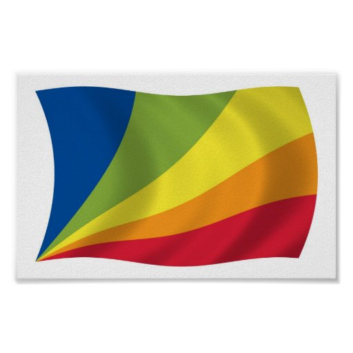Impresión del poster de la bandera de Nova de la l