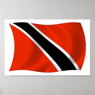 Impresión del poster de la bandera de Trinidad and