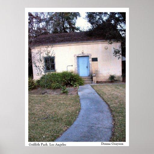 Impresión del poster de la casa de Parque Griffith