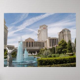 Impresión del poster de la foto de Las Vegas del C
