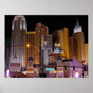 Impresión del poster de la foto de Nueva York Nuev