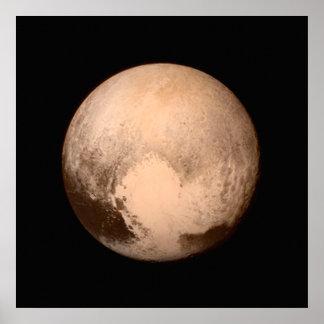 Impresión del poster de la foto de Plutón