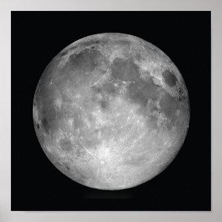 Impresión del poster de la Luna Llena