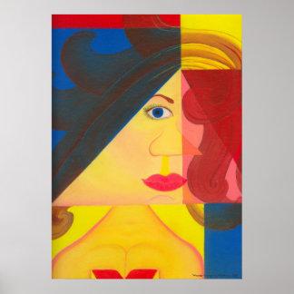 """Impresión del poster de la """"Mujer Maravilla"""""""