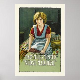 Impresión del poster de la película del vintage de
