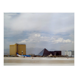 Impresión del poster de la pista del aeropuerto de