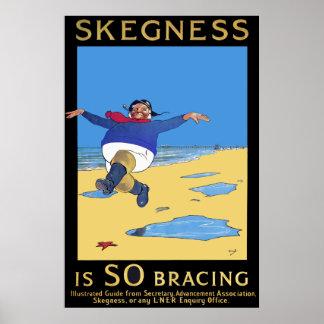 Impresión del poster de la playa