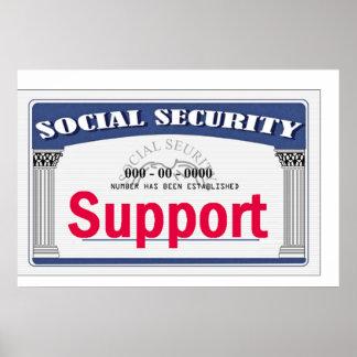 Impresión del POSTER de la Seguridad Social