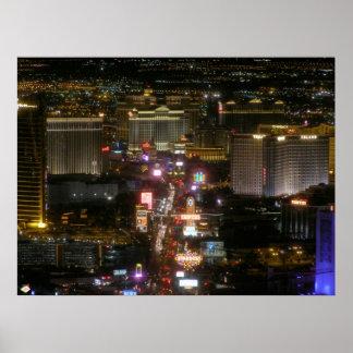 Impresión del poster de la tira de Las Vegas