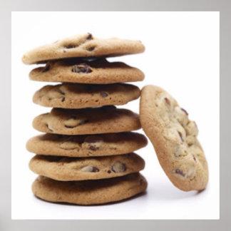 Impresión del poster de las galletas de microproce