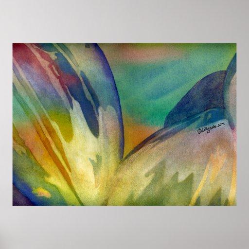 Impresión del poster de las semillas de girasol de