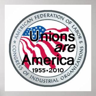 Impresión del POSTER de las uniones del Día del Tr