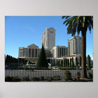 Impresión del poster de Las Vegas del Caesars Pala