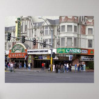 Impresión del poster de Las Vegas del casino de O'