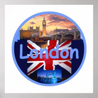Impresión del POSTER de LONDRES