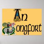 Impresión del poster de Longford (gaélico)