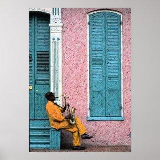 Impresión del poster de los azules del barrio fran