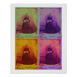 Impresión del poster de los colores de Florence Ni