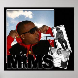 Impresión del poster de MIMS - álbum de foto