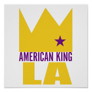 Impresión del poster de MIMS - rey americano de L