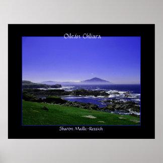 Impresión del poster de Oileán Chliara (isla de Cl
