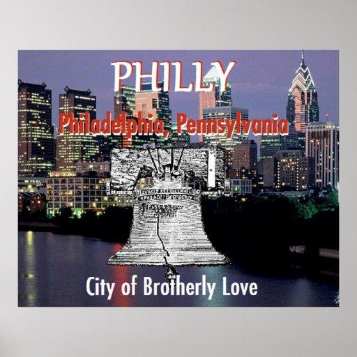 Impresión del POSTER de Philadelphia Pennsylvania