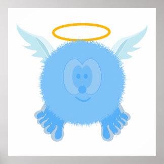 Impresión del poster de Pom Pom PAL del ángel de l