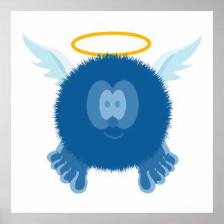Impresión del poster de Pom Pom PAL del ángel de W