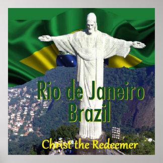 Impresión del POSTER de Río de Janeiro el Brasil