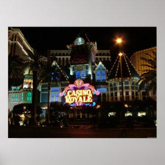 Impresión del poster de Royale Las Vegas del casin