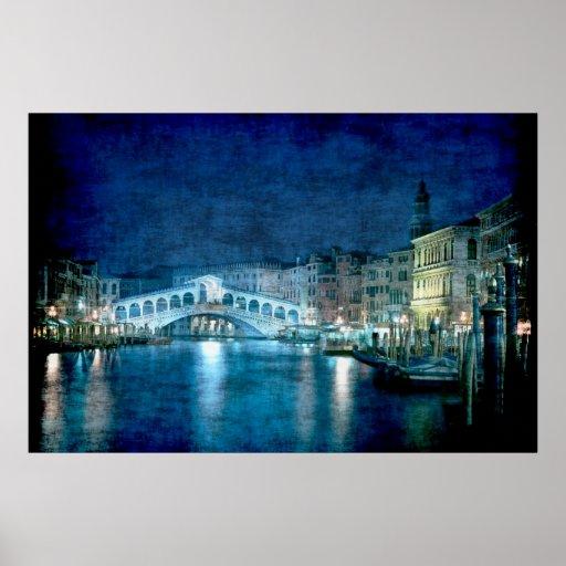 Impresión del poster de Venecia Italia