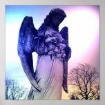 Impresión del poster del ángel