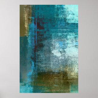 Impresión del poster del arte abstracto del trullo
