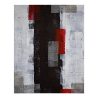 """""""Impresión del poster del arte abstracto del viaje"""