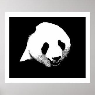 Impresión del poster del arte pop de la panda - po