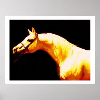 Impresión del poster del caballo