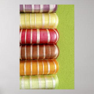 Impresión del poster del caramelo