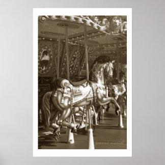 Impresión del poster del carrusel 23